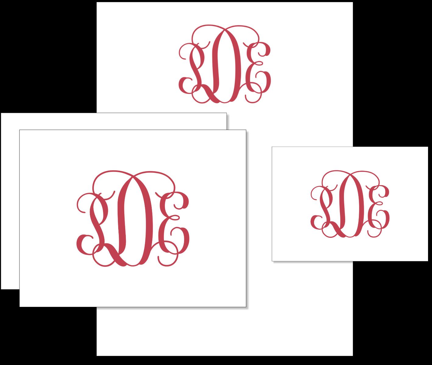 Folded Note Card Stationery Set