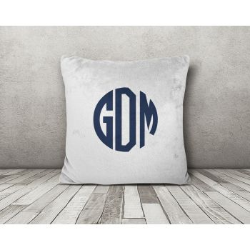 Minky Throw Pillow Cover
