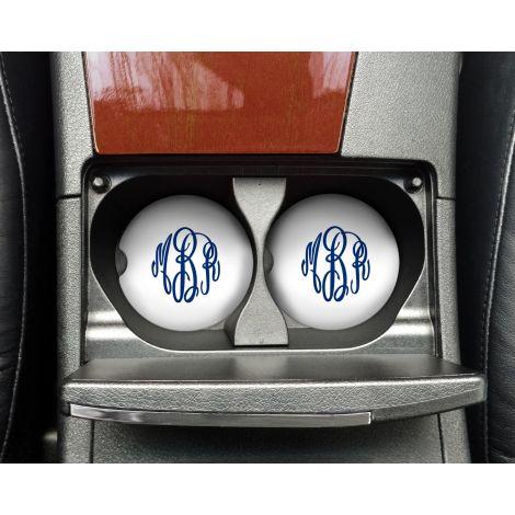 Personalized Car Coaster Set